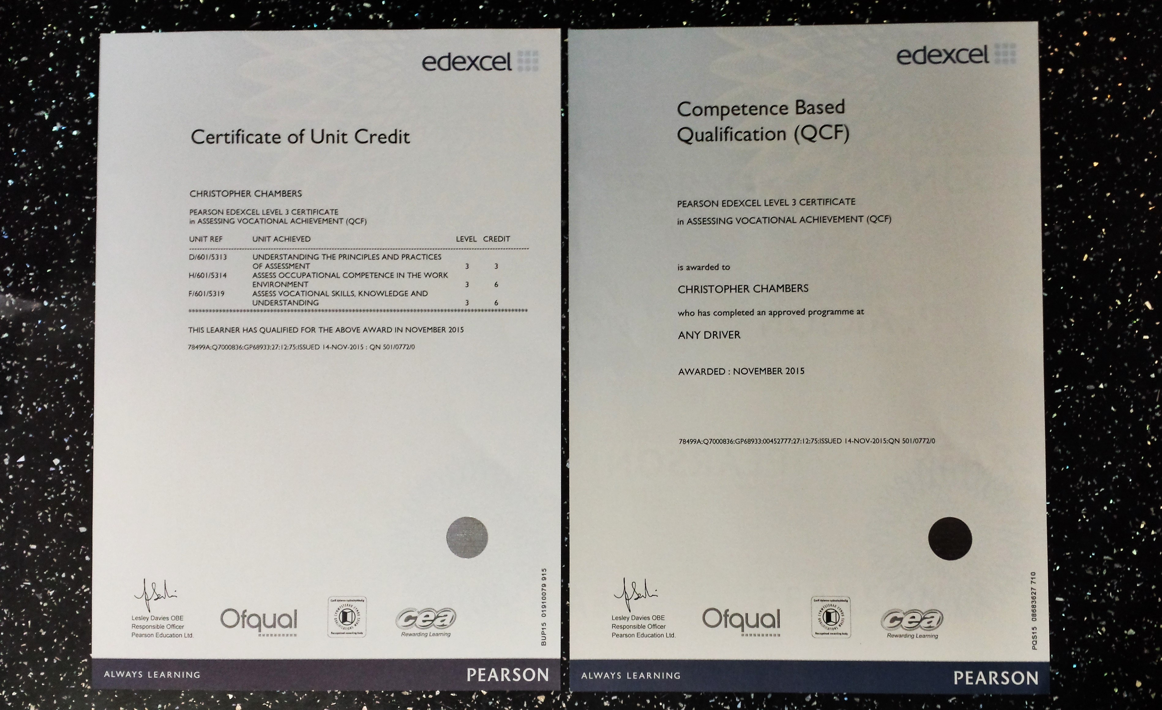 level 3 certificate in assessing vocational